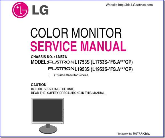 LG LCD 1753